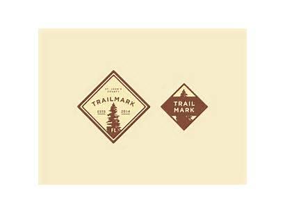 Trailmark Badges Badge Dribbble Trail Nature Unused