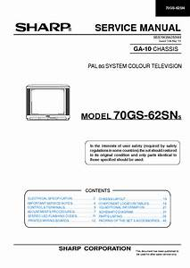 Sharp Lc37xd1e Ru Lcd Tv Sm Service Manual Free Download