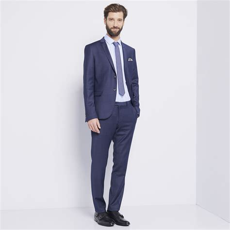 devred veste de costume bleu marine brandalley