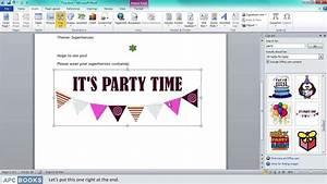 Microsoft Word 2010- Inserting Clipart