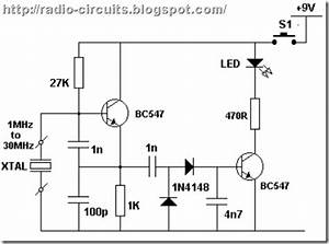radio circuits blog simple rf crystal tester With of rf ideas homebrew rf circuit design ideas these tend to be circuits