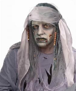Maquillage Pirate Halloween : zombie pirate wig accessories makeup ~ Nature-et-papiers.com Idées de Décoration
