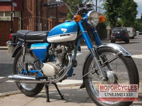 1972 honda cb125 s for sale motorcycles unlimited