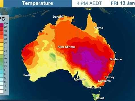 meteorology bureau australia sydney brisbane heatwave wait until you see the weather
