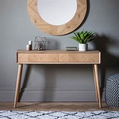 Console Table Drawer Milano Wooden