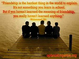 Powerful Friend... Friendship Day Good Quotes