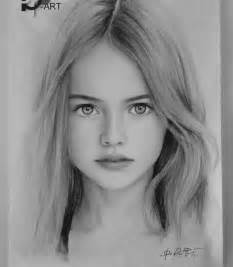 Beautiful Realistic Girl Drawing