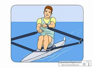 Water Sports : Rowing_04 : Classroom Clipart