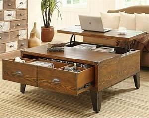 Table De Salon Alinea : choisir le meilleur design de la table basse avec rangement ~ Dailycaller-alerts.com Idées de Décoration