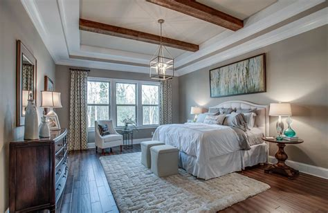 Like The Tray Ceiling With The Wood Beams