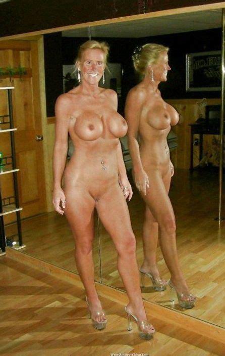 self shots of nude amateur granny
