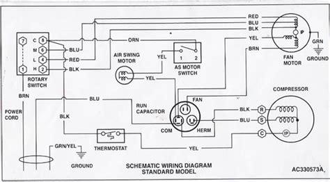hvac condenser wiring diagram