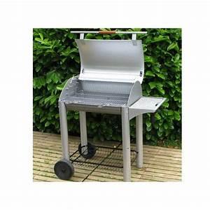 Barbecue Charbon De Bois Pas Cher : barbecue charbon inox avec couvercle ~ Dailycaller-alerts.com Idées de Décoration