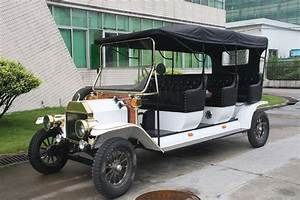 Latest Model Pure Hand Made 3 Row Elegant Battery Golf Cart