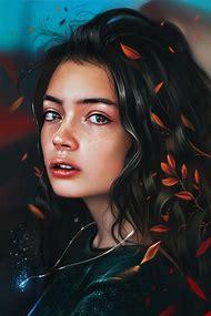 Portrait Illustration Digital Art