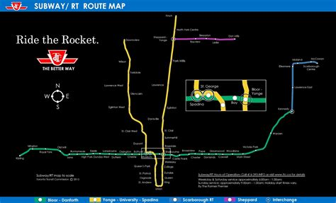 Ttc Route Map