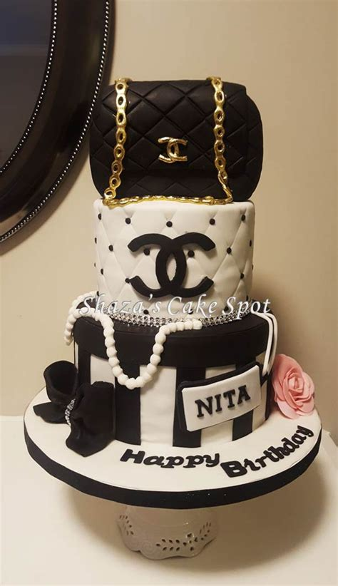 chanel birthday cake cakecentralcom