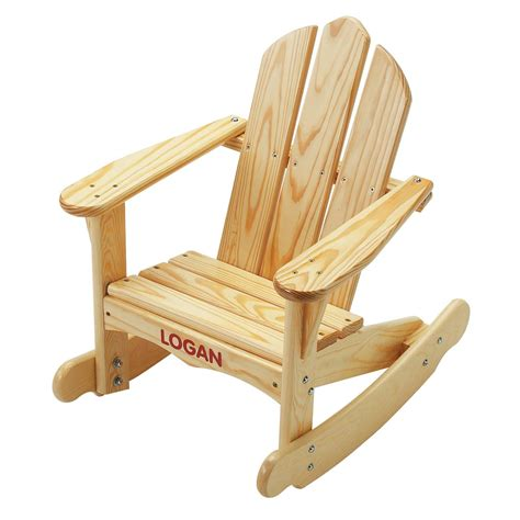 colorado childs sunroom adirondack rocking chair