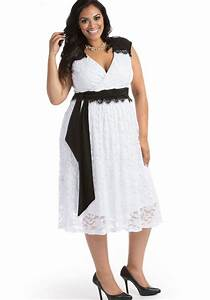 Semi formal plus size dresses for a wedding - PlusLook.eu Collection