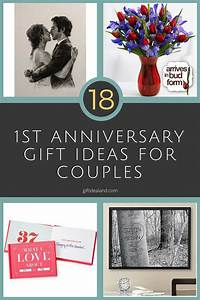 22 amazing 1st anniversary gift ideas for couples With gift for wedding anniversary for couple