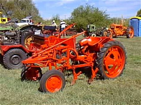 yesterdays tractors tractor profile allis chalmers model