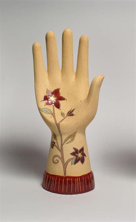 ceramic hand sculpture eden  janna ugone ceramic