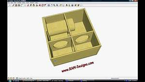 "RAM Designs: JL W3V3 10"" Bandpass Sub Box Design - YouTube"