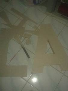 1000 images about diy letter standee on pinterest paper With 2 foot cardboard letters