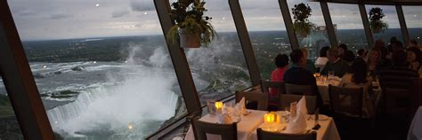 Skylon Tower Revolving Dining Room Reservations by Niagara Falls Dining And Restaurants
