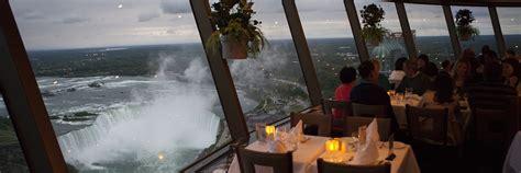 skylon tower revolving dining room reservations niagara falls dining and restaurants