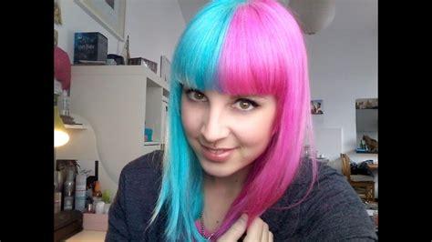 pinke haare färben omg neue haare