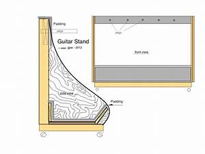 Doing by Wooding: Choice Free woodworking plans guitar stand