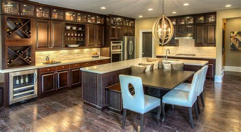 Center Islands For Kitchen - beautiful kitchen islands with bench seating designing idea