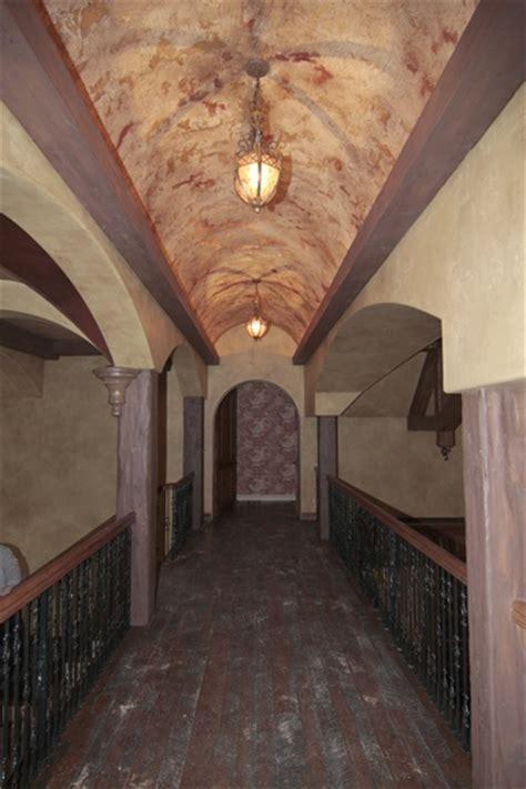 faux painted barrel ceiling idea   master bath