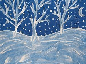 A Painted Winter Scene | Colline's Blog