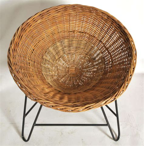 1950s rattan chairs at 1stdibs