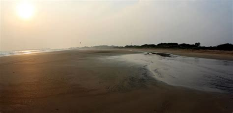 stock pictures beach at diu in gujarat in india