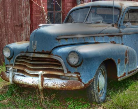 abandoned car  rust  peace classic cars