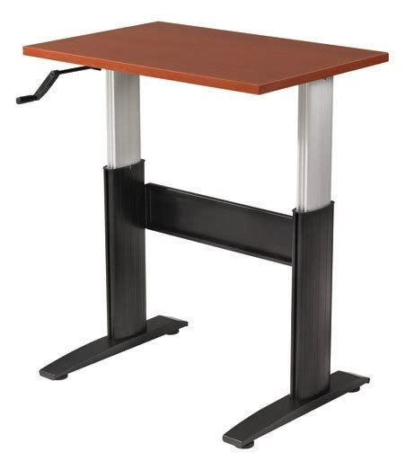 crank standing desk ikea 1000 ideas about stand up desk on standing