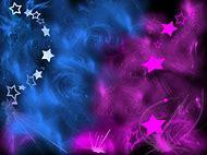 Animated Glitter Stars