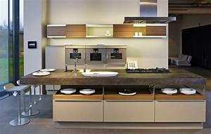 Designer Küchen Mit Kochinsel : moderne einbauk chen mit kochinsel ~ Sanjose-hotels-ca.com Haus und Dekorationen