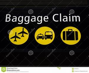 Airport Baggage Claim Sign Stock Photography - Image: 31876212