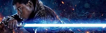 Lightsaber Anakin Finn Monitor Wallpapers 1200 Panorama