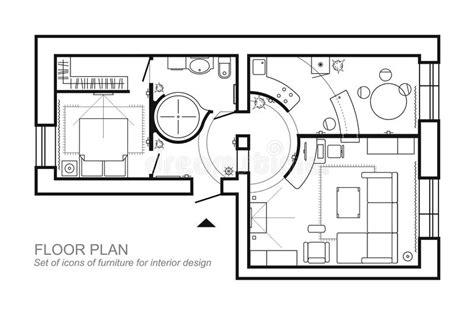 disposition des meubles dans une chambre plan architectural d 39 une maison disposition de la vue
