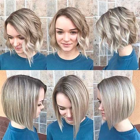 latest short hairstyles   face shape