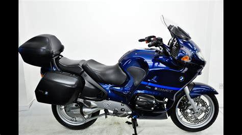 Bmw R1150rt 2004 04 Blue