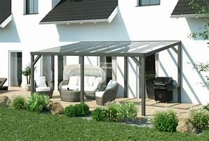 Terrassen berdachung freistehend aus aluminium for Terrassenüberdachung alu freistehend