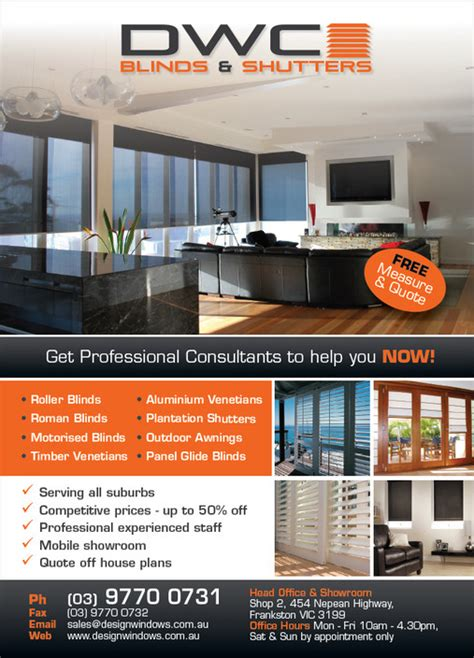 dwc blinds shutters  frankston melbourne vic shades blinds truelocal