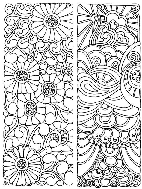 bookmarks coloring page coloring pages for adults discover best ideas about