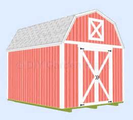 10x14 Shed Plans With Loft by Plan Drawing 10 X 12 Gambrel Shed Plans 20x24